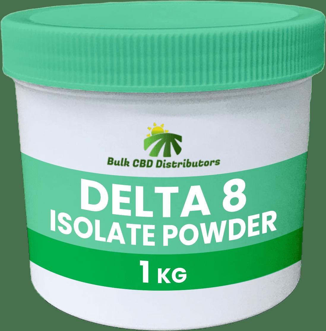 Bulk Delta 8 Isolate